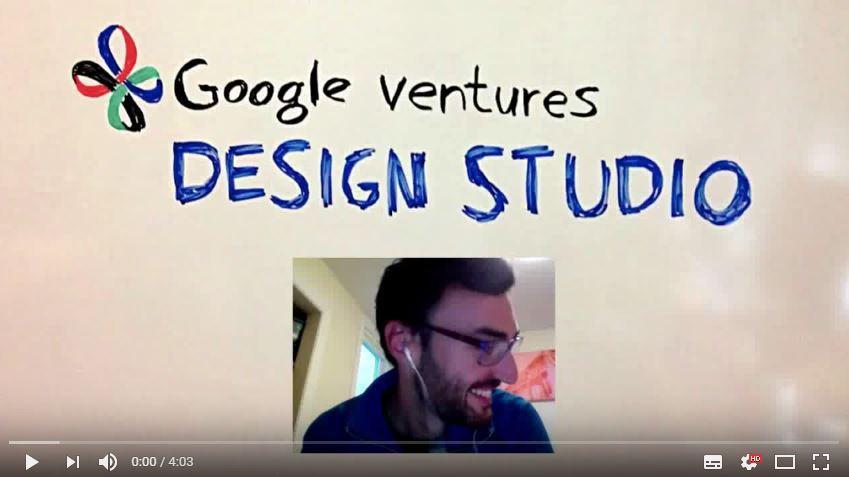 Vidéo d'explication de la méthode par Google Ventures