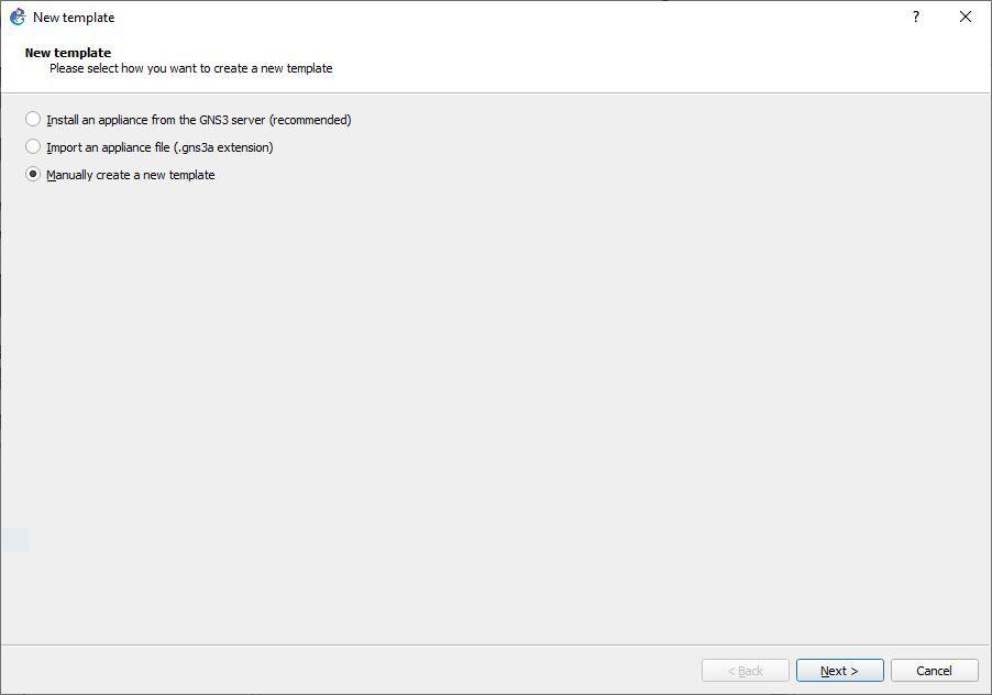 intégrer une VM VirtualBox sous GNS3